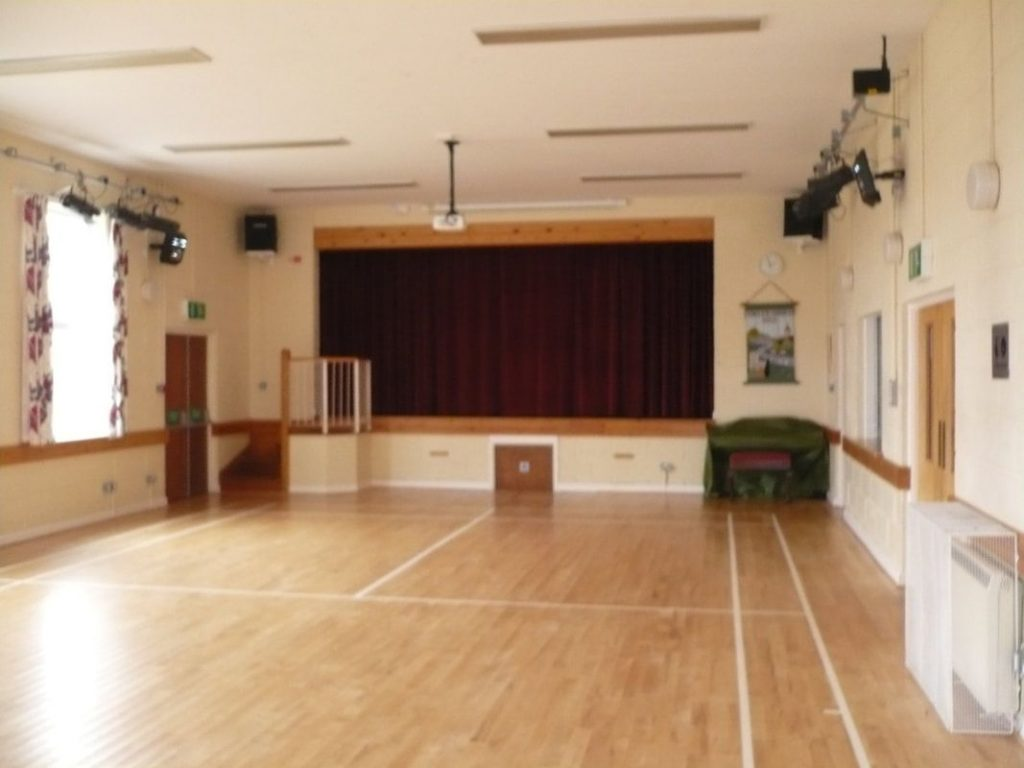 Toller Porcorum Village Hall, West Dorset - main hall one of the key facilities